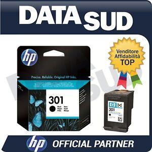 CARTUCCIA-HP-301-ORIGINALE-BLACK-NERO-INK-JET-CH561EE-Deskjet-1000