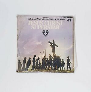 Jesus-Christ-Superstar-Soundtrack-LP-12-034-Vinyl-Record-Original-Music-Free-Post