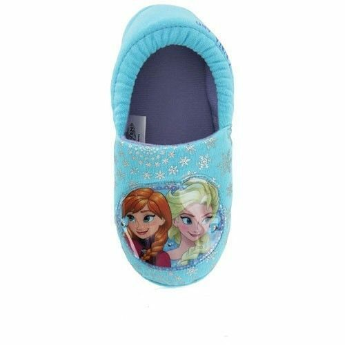 GIRLS OFFICIAL BRANDED CARTOON CHARACTER NOVELTY SLIPPERS INFANTS KIDS SIZE 5-1