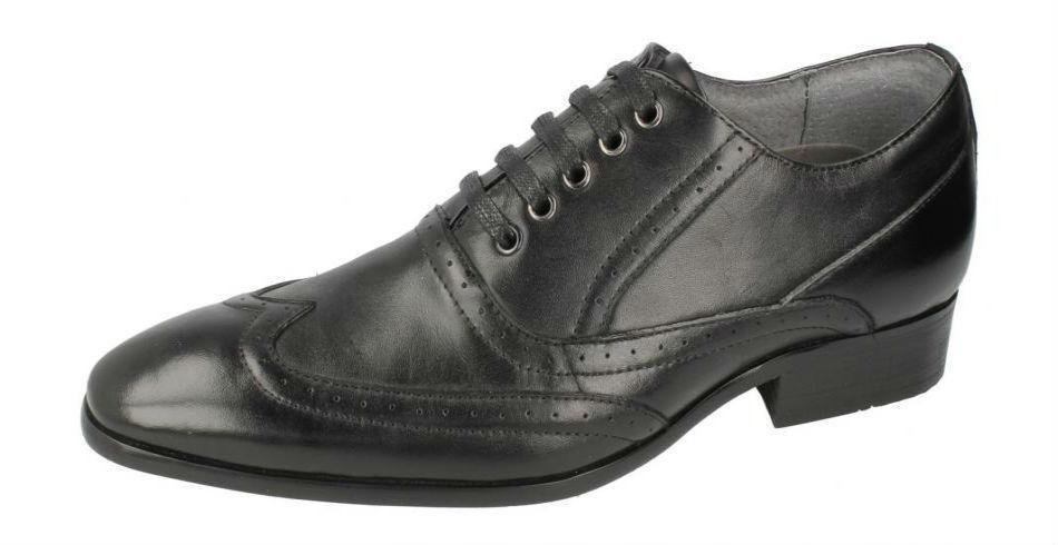 Hombre Estilo Informal cuero Zapatos de cuero Informal (Malvern a2129) d0d02e