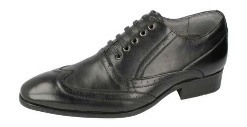 MALVERN A2129 Zapatos para Hombre informal de cuero inteligente