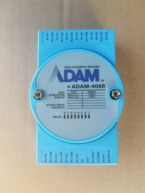 ADAM-4068 Industrial module digital output Number of port1 10÷30VDC ADVANTECH