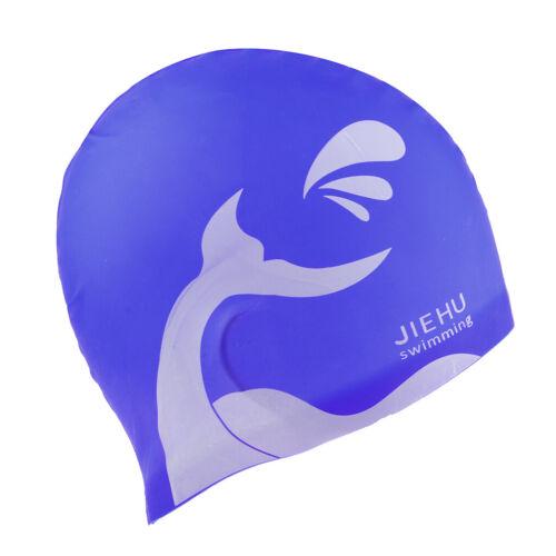 Robuste Flexible Silikon Badekappe Wasserdichter Badehut Unisex