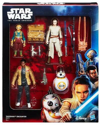 Star Wars The Force Awakens Takodana Encounter Action Figure Set NEW