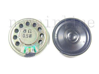 2pcs New 28mm 8Ohm 8Ω 0.5W Audio Speaker Stereo Woofer Loudspeaker Trumpet Horn