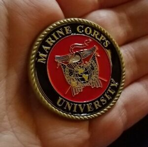 Marine-Corps-University-Quantico-VA-USMC-Challenge-Coin-Crossroads-of-the-Marine