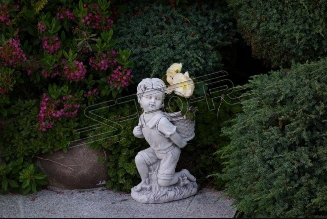 Ragazzo Bub 40cm personaggio figure statua statue scultura decorazione da giardino s101147