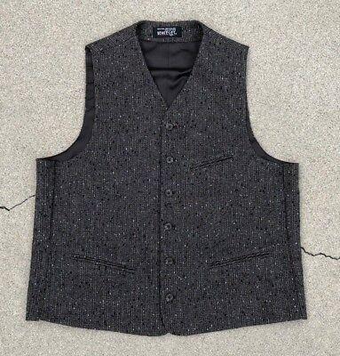Radient Berkeley Collezione Uomo Tweed Marrone Canotta Per Abito Taglia Media Supplemento L'Energia Vitale E Il Nutrimento Yin