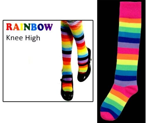 Hs2540A  ^* Knee Highs For Women Rainbow Color