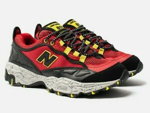 New-Balance-Men-039-s-ML801GLE-Shoes-NEW-AUTHENTIC-Black-Red-Yellow-ML801GLE