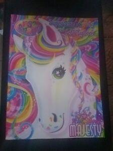 Details About Vintage Lot Coloring Books Care Bears Unicorns My Little Pony Lisa Frank Magic