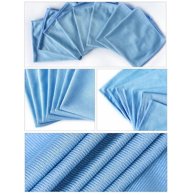 Saubere Mikrofaser-Glastuch-Stoff-Tücher waschen Fenster-Polierabsorbierendes YR