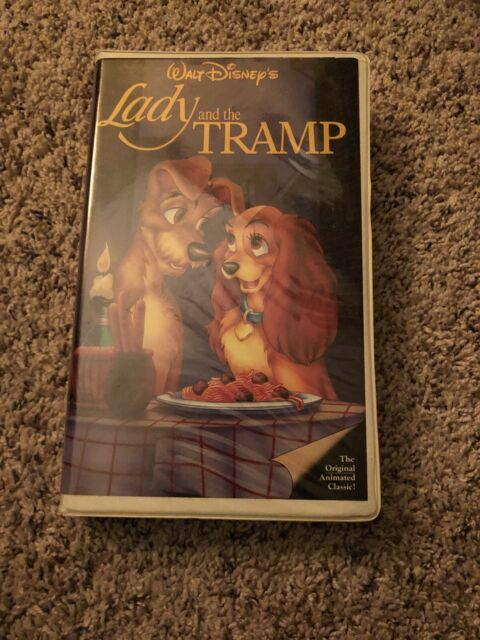 Lady And The Tramp Vhs 1987 Black Diamond Disney Rare Pre Owned Take A Look For Sale Online Ebay