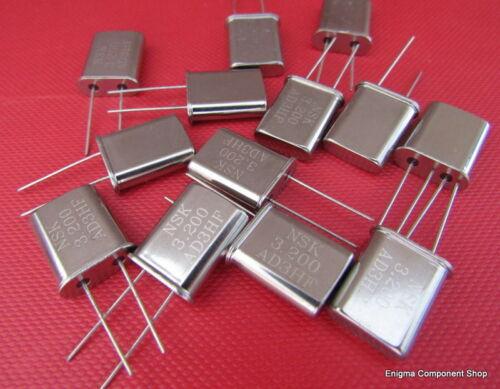 HC49 cristalli al piombo UK Trusted Seller. varie frequenze Varie Confezioni