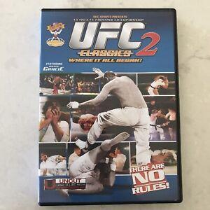UFC-CLASSICS-2-Ultimate-Fighting-Championship-DVD-Royce-Gracie-Pat-Smith