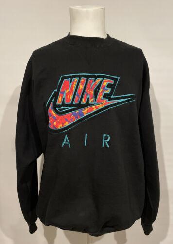 NIKE Air Vintage 90's Embroidered Sweatshirt SZ XL
