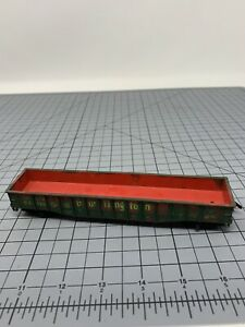 HO-Scale-Train-50-Ft-Gondola-CB-amp-Q-Burlington-83116-L1