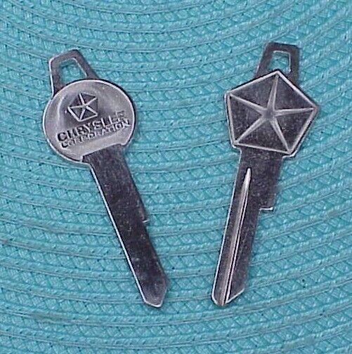 1964 64 1965 65 1966 66 Plymouth Dodge Chrysler Imperial NOS MoPar Key BLANKS