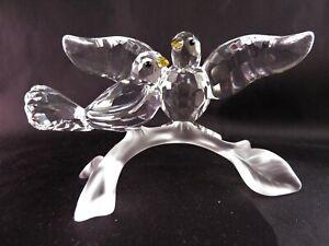 Swarovski-Figurine-Turtledoves-Retired-in-2013