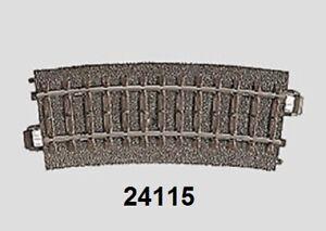 Marklin-H0-24115-Voie-C-Courbe-R1-360-mm-15-Neuf