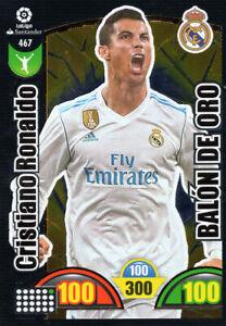 ADRENALYN-XL-LIGA-Santander-2017-18-Cristiano-Ronaldo-Balon-de-oro-Trading-Card