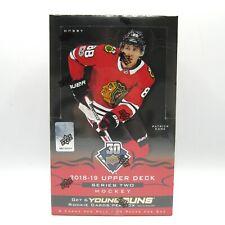 Upper Deck 2018-19 Series Two Ice Hockey Card Hobby Box