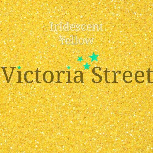 "0.2mm Yellow Fine 0.008/"" Iridescent Mustard Victoria Street Glitter"