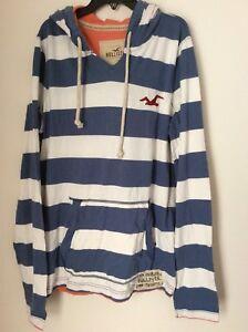 Hollister-men-s-hoodie-sweatshirt-L