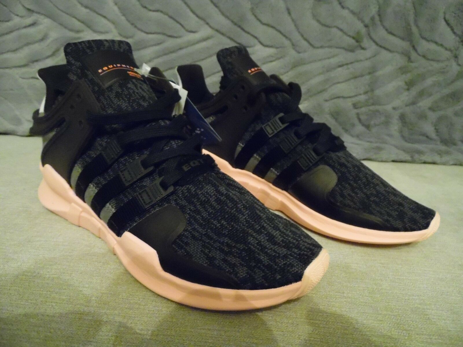 Zapatos promocionales para hombres y mujeres Adidas EQT Support ADV W Womens Mens NMD Black Pink Running Shoes BNIB Trainers