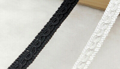 10mm COTTON SCROLL BRAID Blinds Lampshade Costume Upholstery Furnishing Gimp