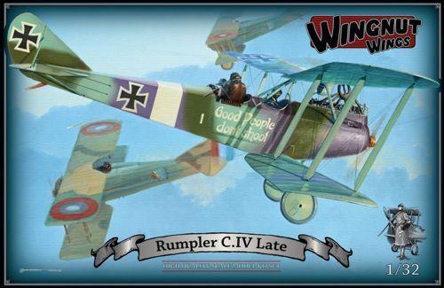 WINGNUT WINGS 1 32 Rumpler Rumpler Rumpler C.IV ULTIMA VERSIONE b50b27