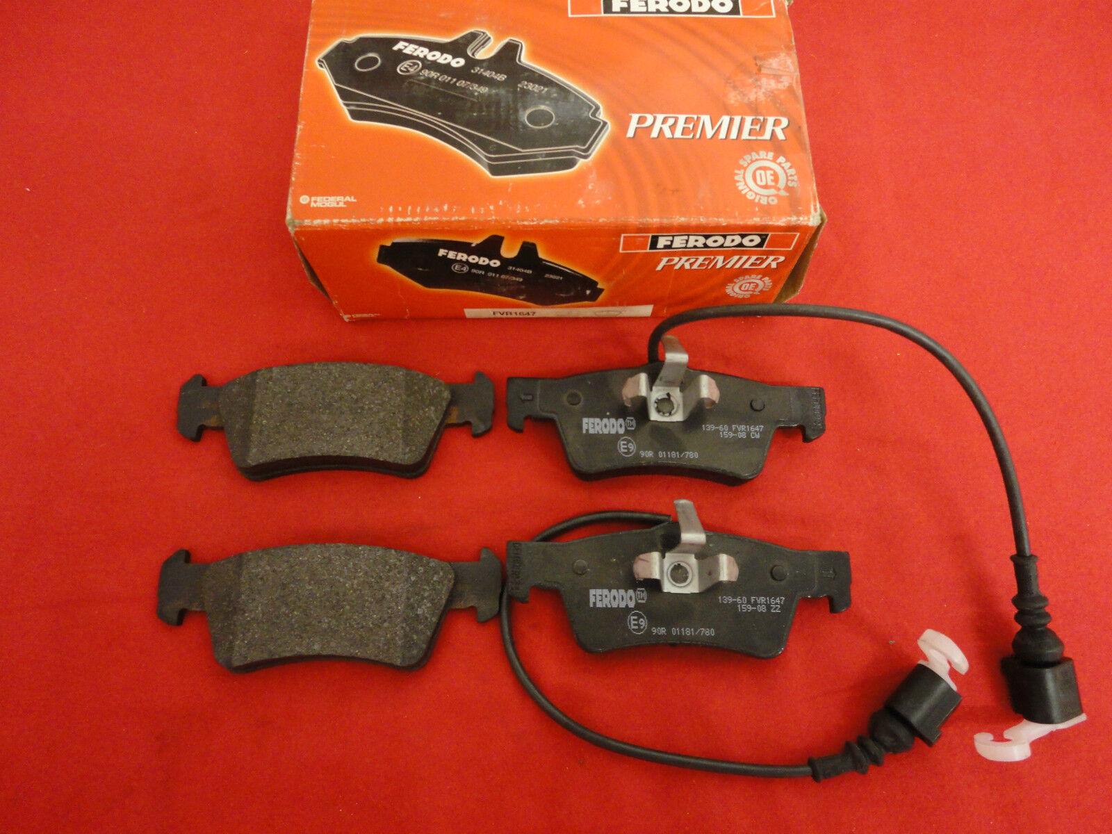 NEU Bremsbelag Ferodo Premier FVR1647 VW T5 7H8698451 7L6698451 7L6698451C