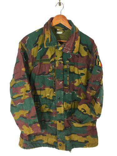 Belgian Army Jigsaw S Combat L Xl Camouflage Jacket Camo M90 Parka M Sizes qd0wYqA