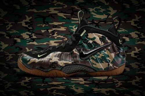 Nike Air Foamposite Pro Camo le Army Camo Pro cómodo barato y hermoso moda 254b72