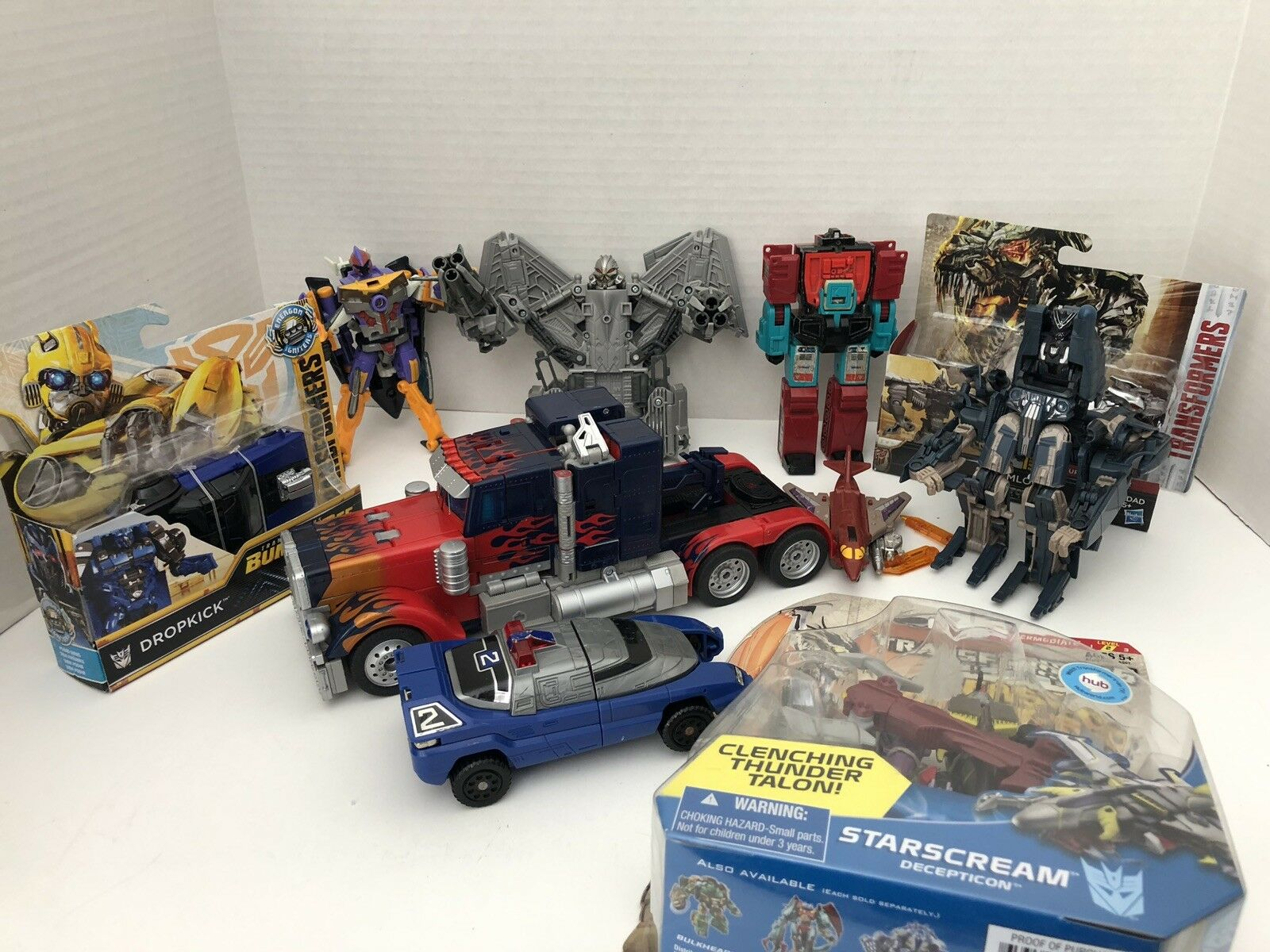2008 Transformers Habro Toy Lot Includes Optimus Prime Prime Optimus 2929c1