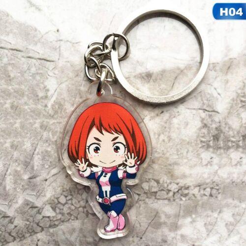 BokuNo Hero Academia My Hero Academia Acrylic Pendant Keychain Keyring Charm New