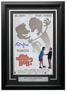 Richard-Dreyfuss-Signed-Framed-11x17-What-About-Bob-Movie-Poster-JSA