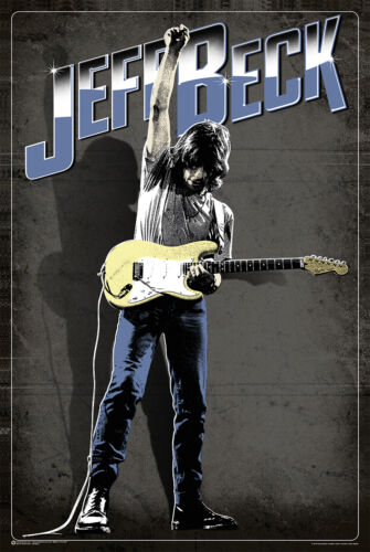 FENDER STRATOCASTER PICTURE PRINT NEW ART 61X91CM JEFF BECK POSTER