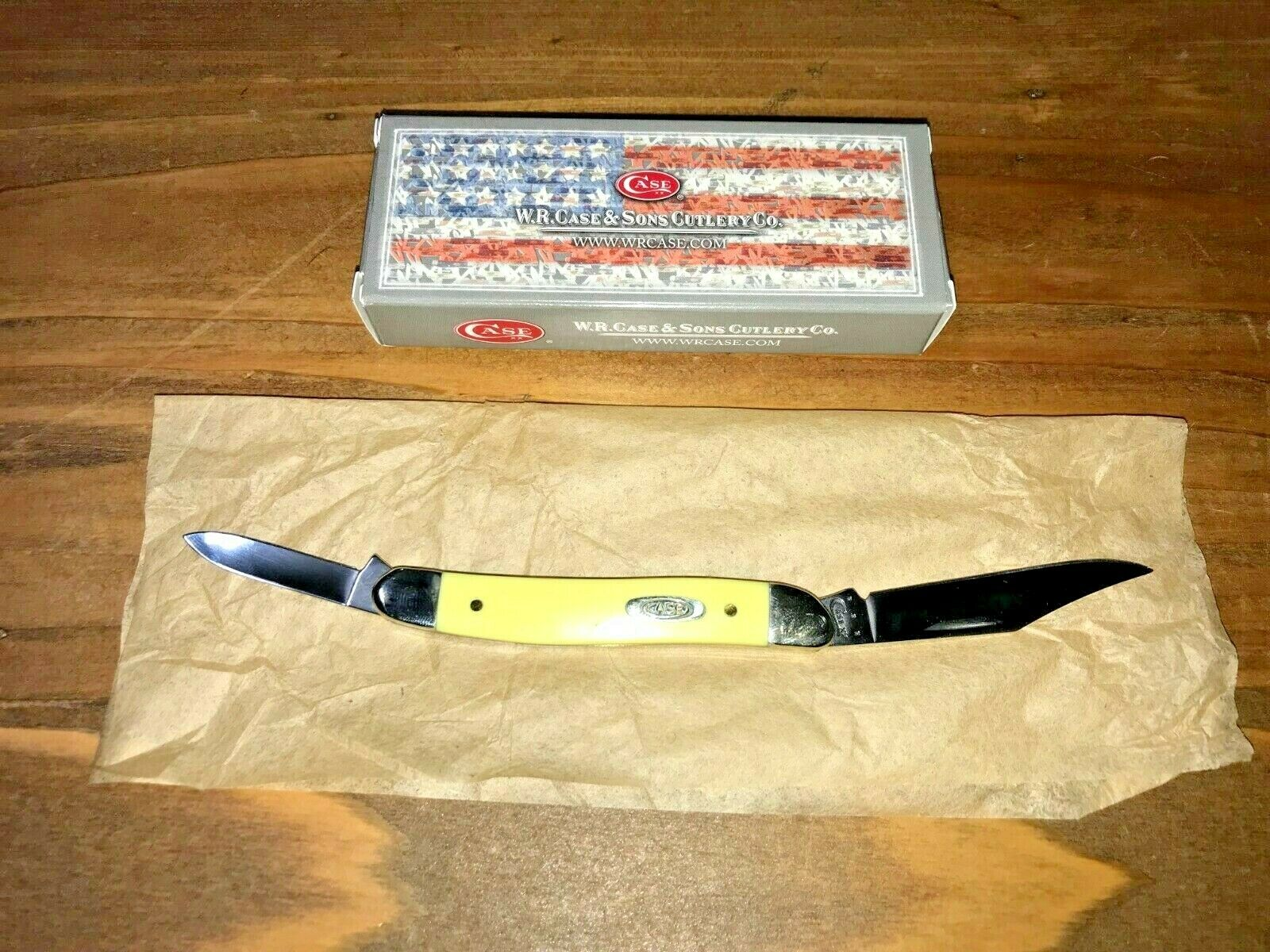 Case Pen Yellow 81090 Pocket Knife