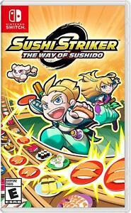 Sushi-Striker-The-Way-of-SUSHIDO-Nintendo-Switch-PUZZLE-ACTION-ANIME-NEUF