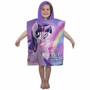 Children-My-Little-Pony-Equestria-Hooded-Poncho-Towel-Boys-Girls-Favorite-Carton