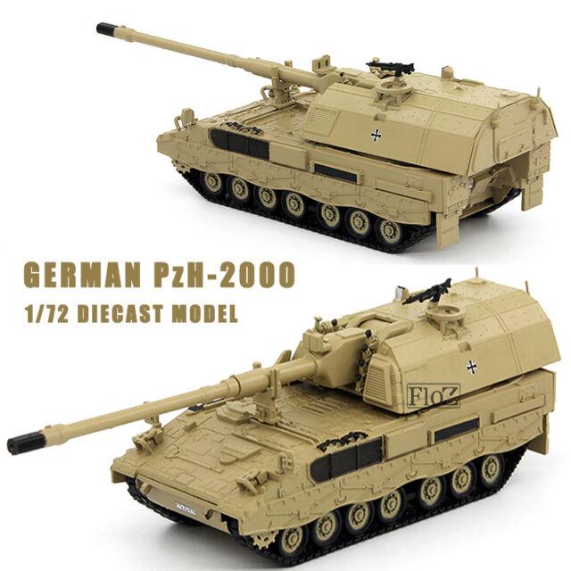 SCALA 1//72 German DIE CAST TANK  Panzerhaubitze 2000