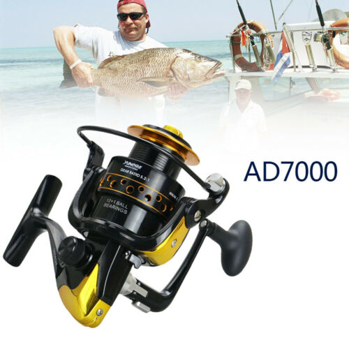 13BB Speed Spinning Reel Metal Spool for Saltwater Freshwater Fishing AD Series