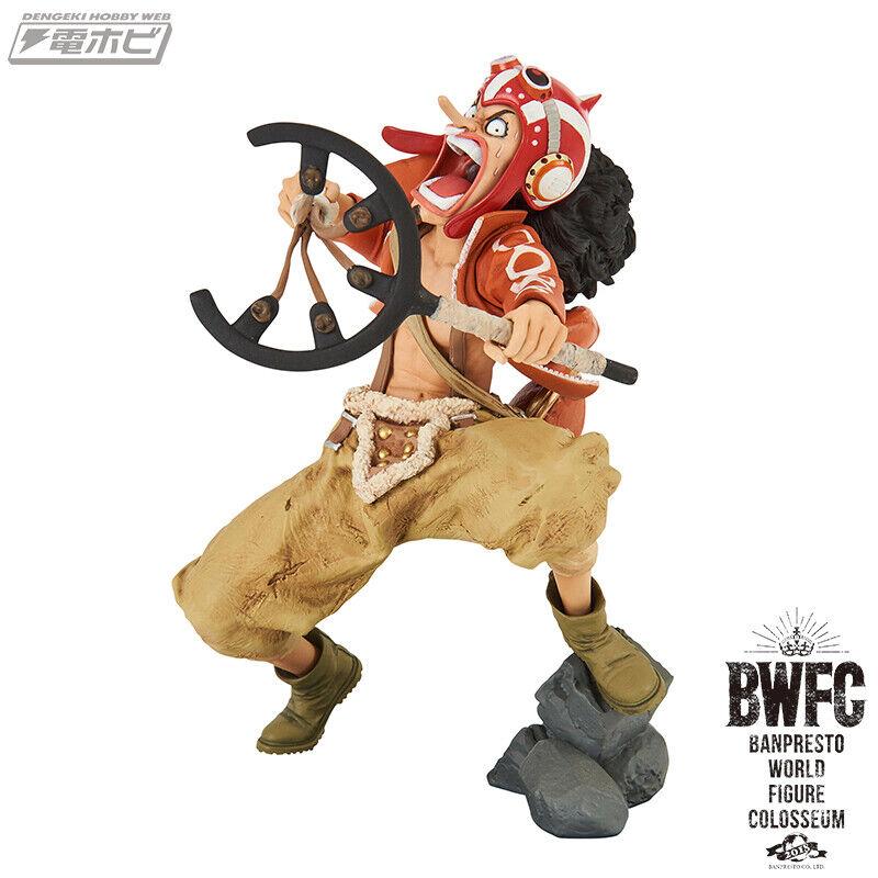 ☀ PRE-ORDER One Piece Usopp Banpresto World Figure Colosseum BWFC BWFC BWFC 2 Figurine ☀ 63eb82