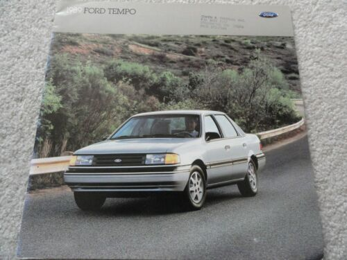 1989 Ford Tempo Sales Brochure