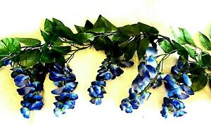 Wisteria-Garland-Artificial-Silk-Flowers-Wedding-Arch-Chuppah-Hanging-Vines-Fake