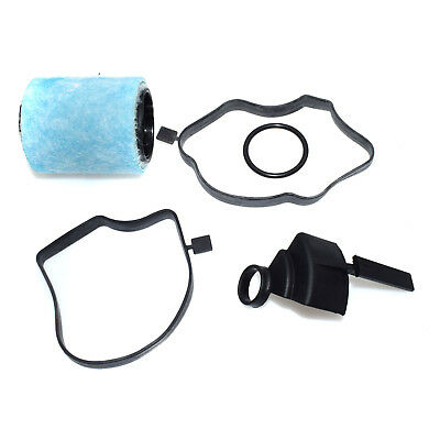 OEM 11127793164 Crankcase Engine Oil Breather Separator Filter with Gaskets O Ring
