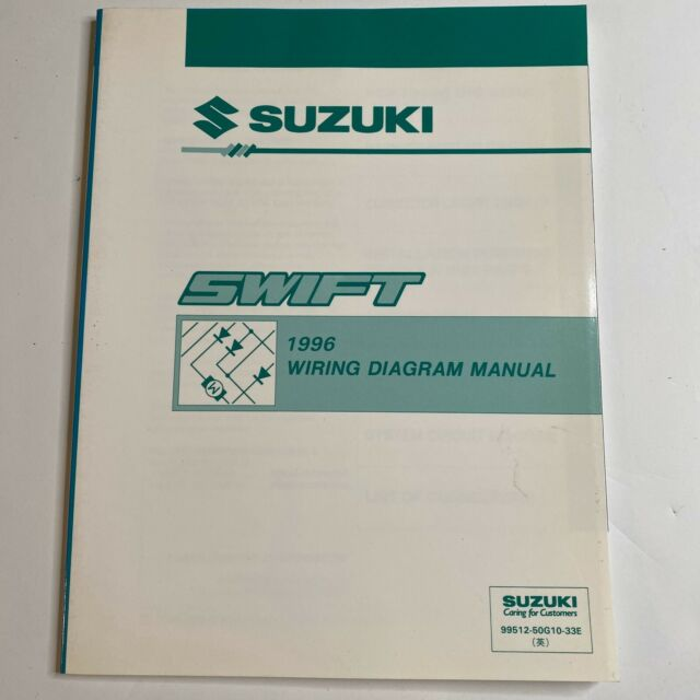 1996 Suzuki Swift Wiring Diagram Manual
