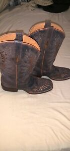 Buckle Cowboy Boots (made In Mexico) Size 10