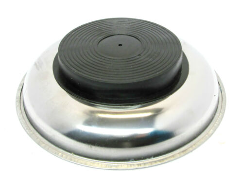 """75mm 3/"""" Stainless Steel Circular  Magnetic Parts Tray Dish Holder US PRO 6783"""